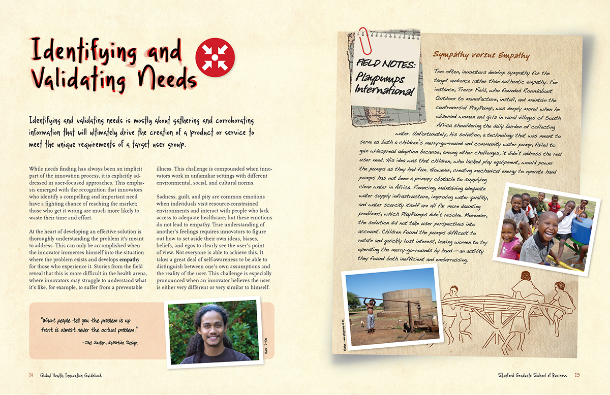 Stanford Global Health Innovation Guidebook on Behance