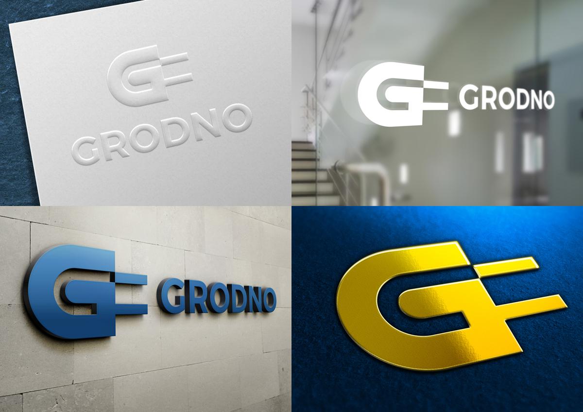 logo identity polska poland electric lighting Grodno