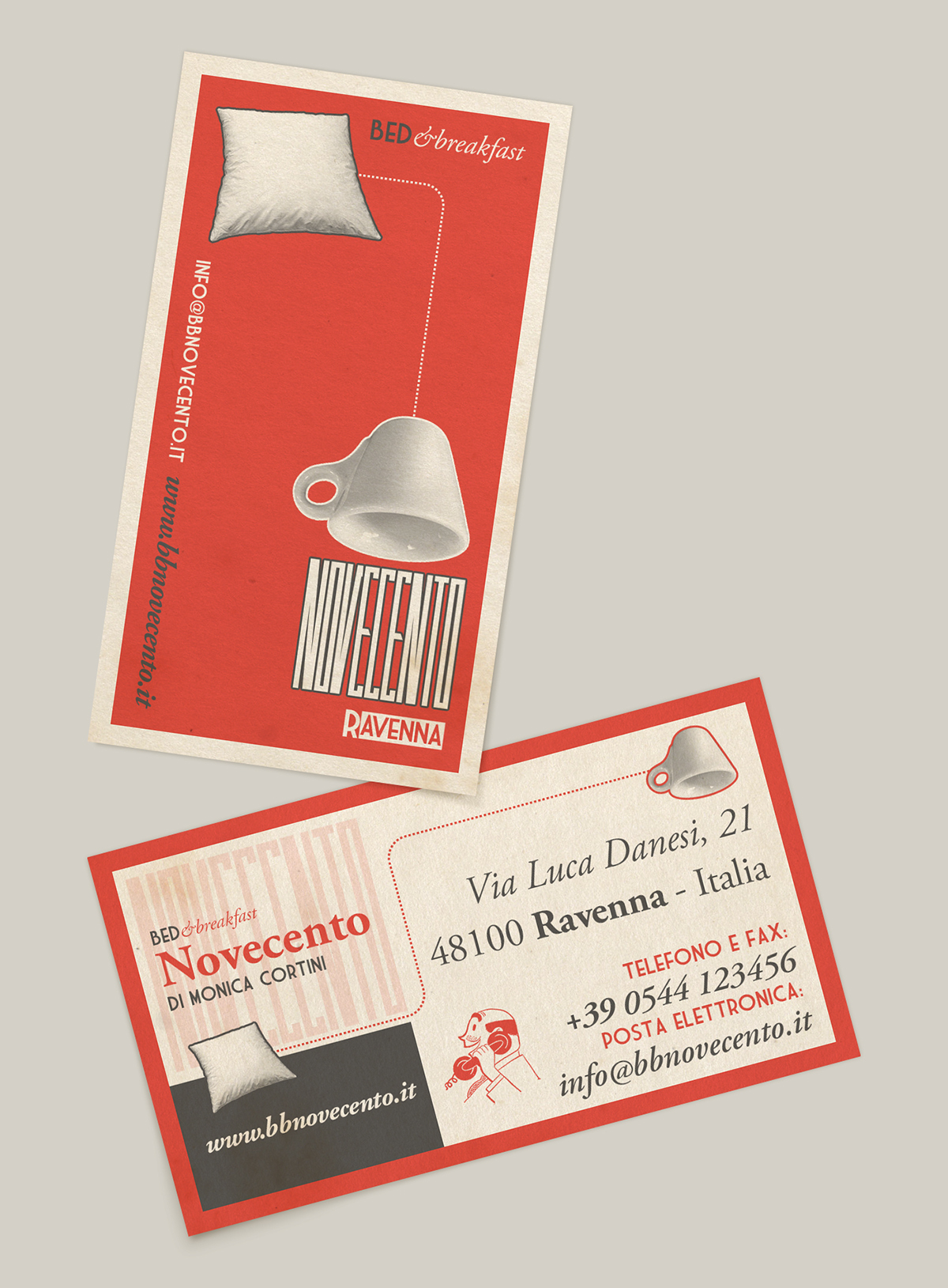 constructivism,red,paper,bed&breakfast,B&B,novecento,ravenna