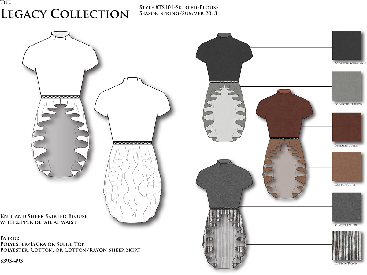 Structural Design Fashion On Aiga Member Gallery