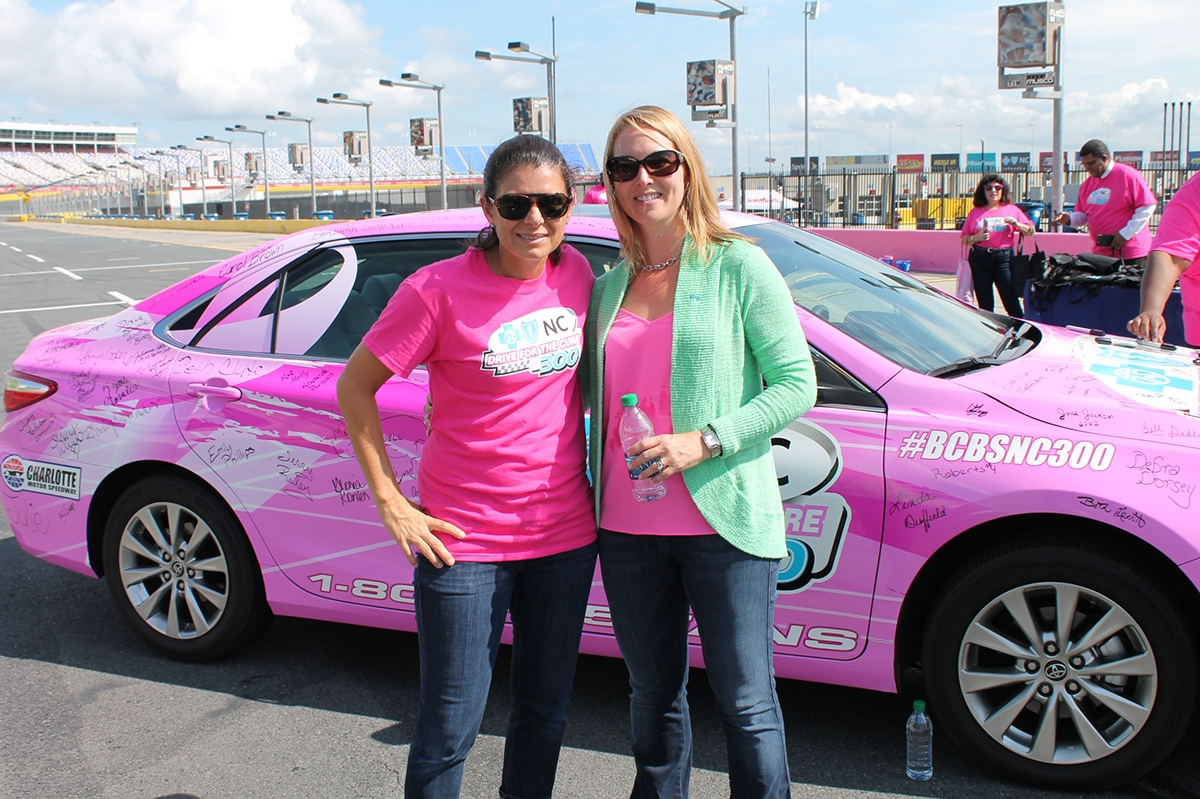 Women's health breast cancer Komen Charlotte race for cure Robert B Butler NASCAR Hurricane Joaquin Marshall Park uptown charlotte queen city