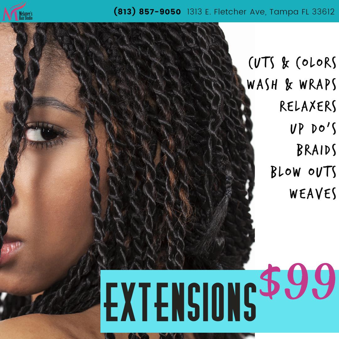 Melanees Hair Studio On Behance