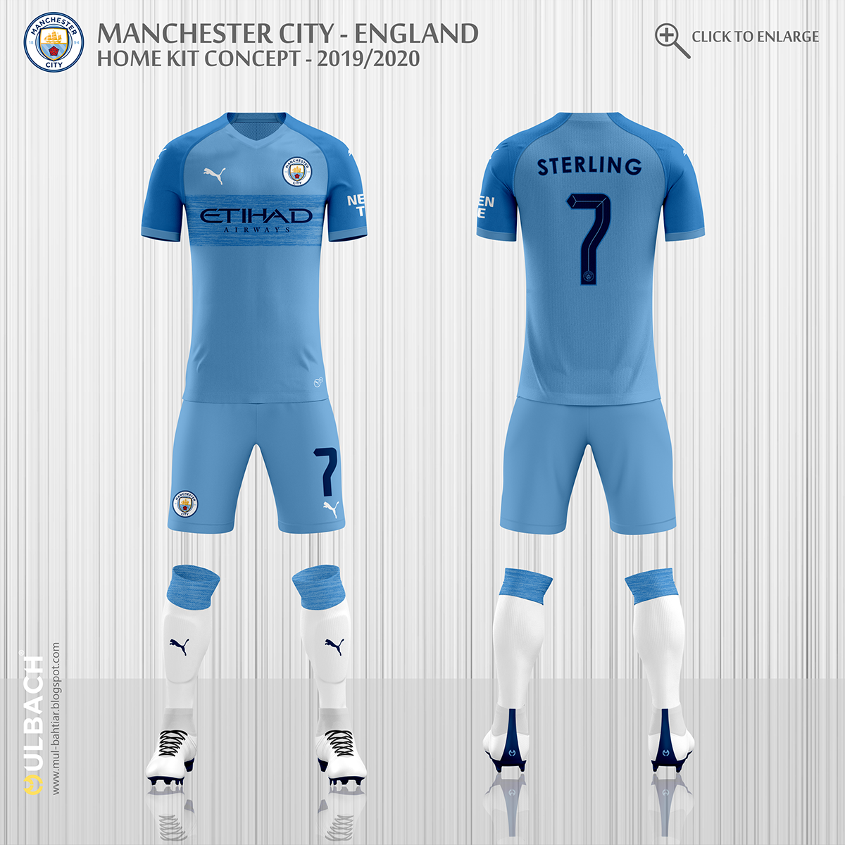 5796cd0262f Manchester City 2019 2020 Puma Kits Concept on Behance