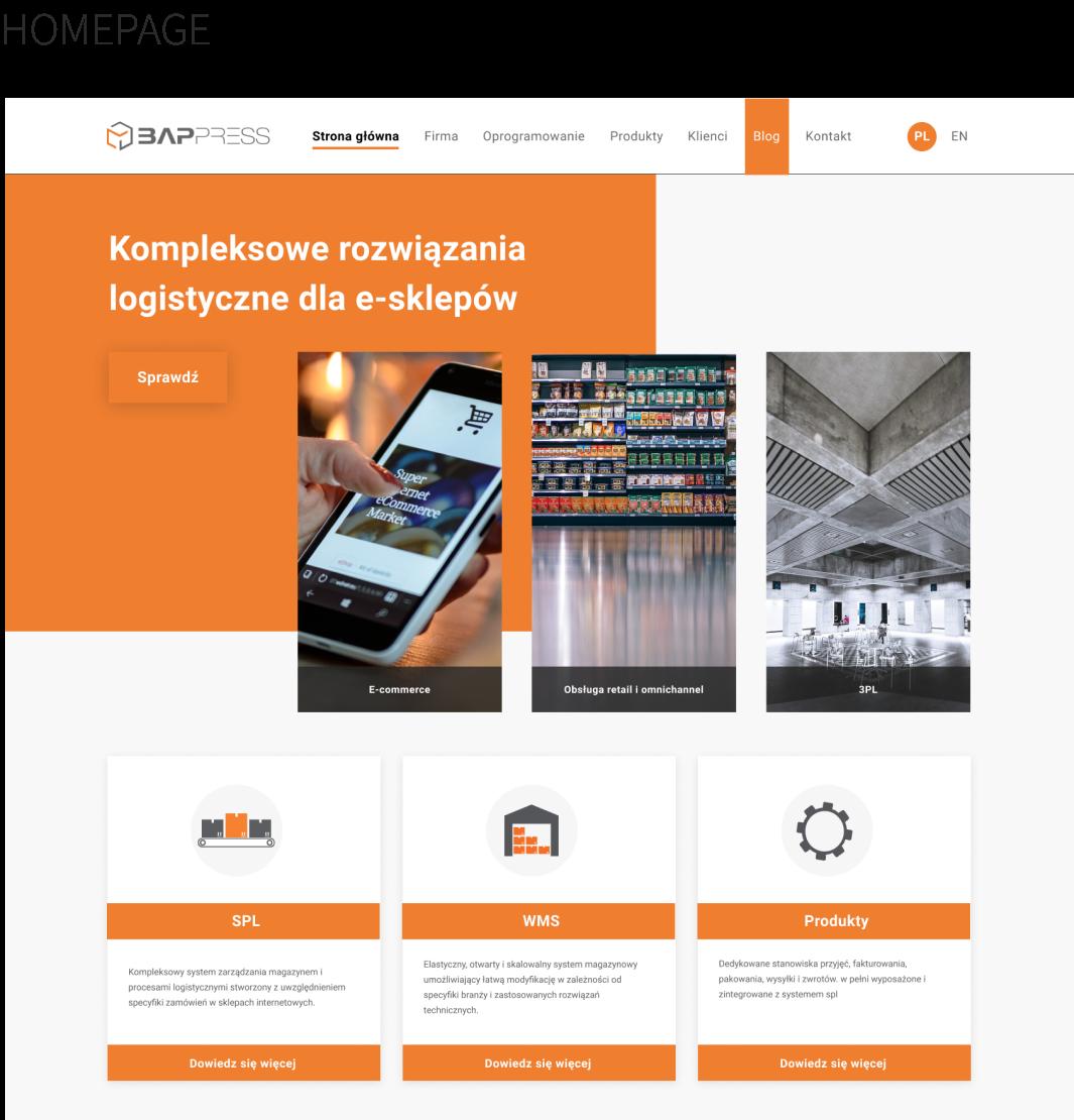 UI ux Figma Web Design  Bappress Semper Iratus ntsr