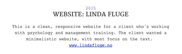 Website Responsive Web minimal psychology