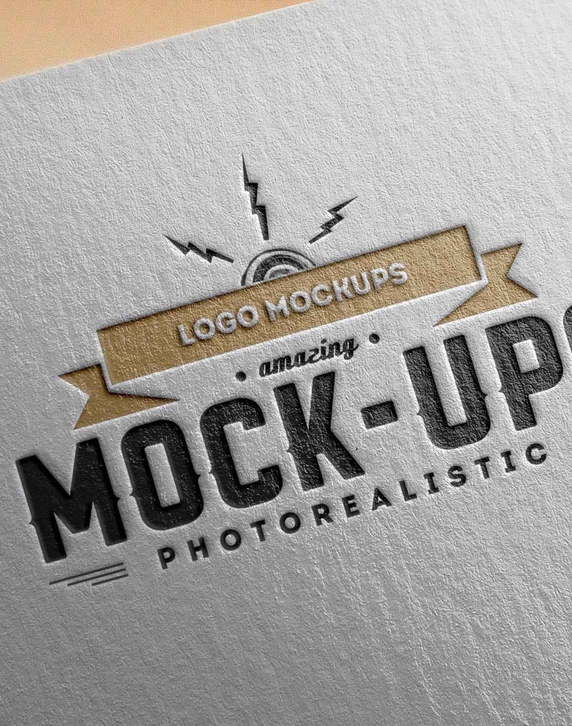 free freebie dealjumbo Free Template free download free mockup  mock-up presentation logo Mockup free logo mock-up Logo presentation photoshop