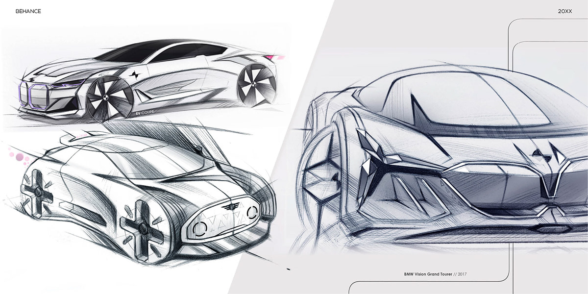 Bmw Sketches Collection On Wacom Gallery