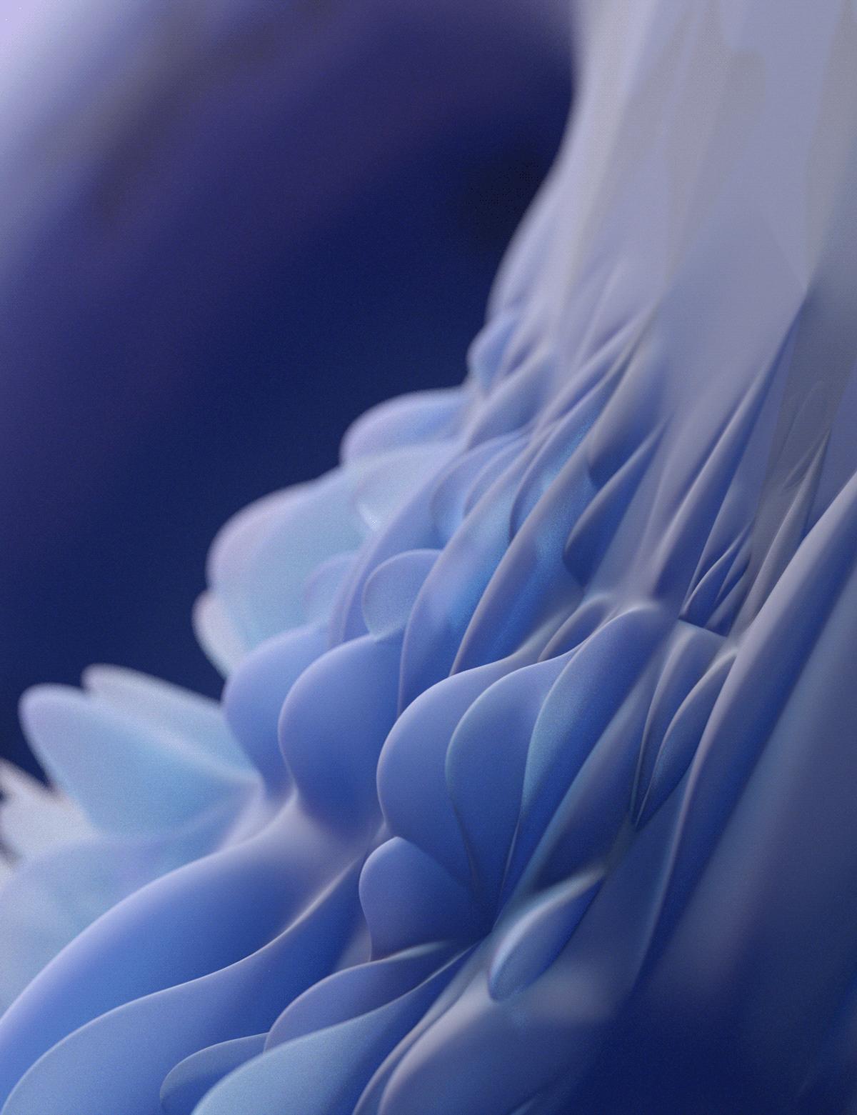 glass sovery abstract 3d art wallpaper background Digital Art  mobile Web 3d artist