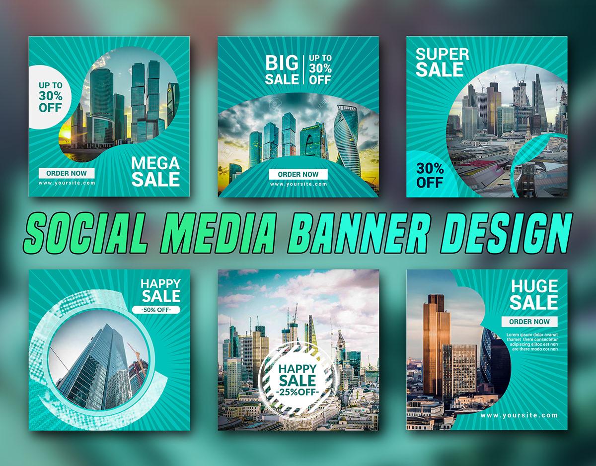 Social Media Banner Design Vol 02 On Student Show