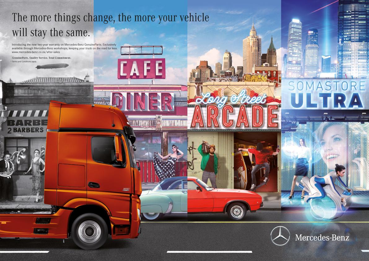 Mercedes Benz SA Extended Warranty Print On Behance