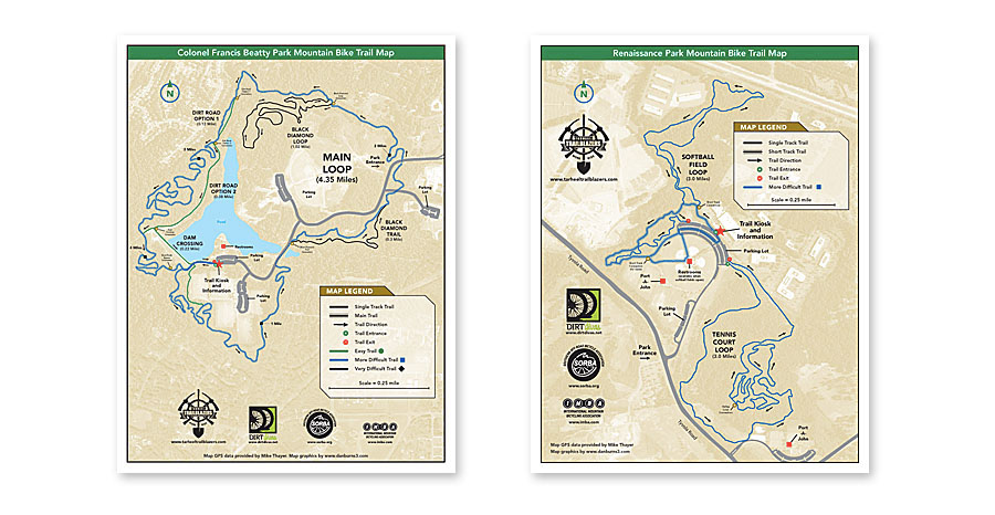 u s national whitewater center trail map 2007 colonel francis betty mountain bike trail map 2011 renaissance park mountain bike trail map 2011