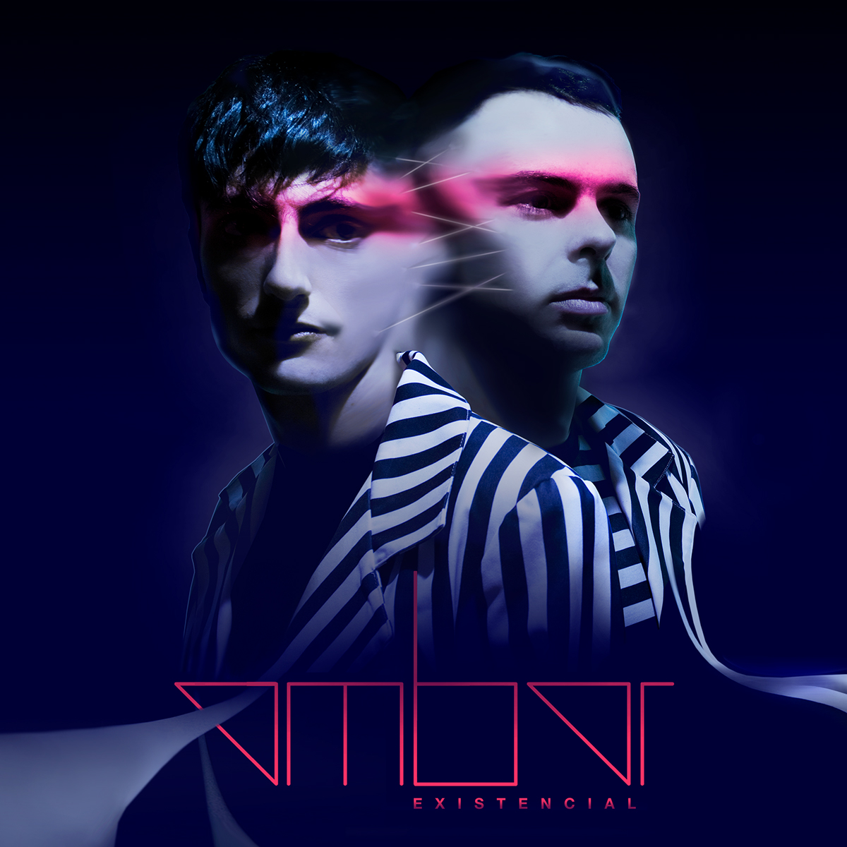 music electronic pop band stripes 3D Promotion marketing   duo Album