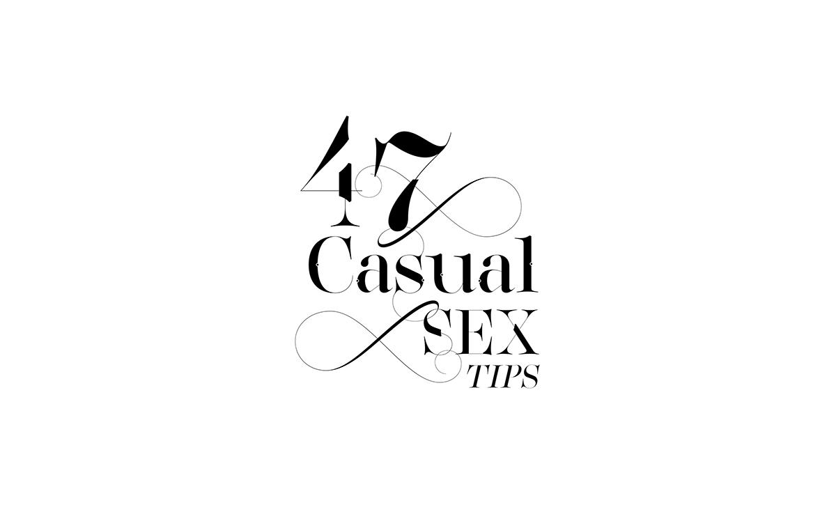 Fashion  fonts type ampersand custom type Typeface luxury logo Logotype fashion magazine