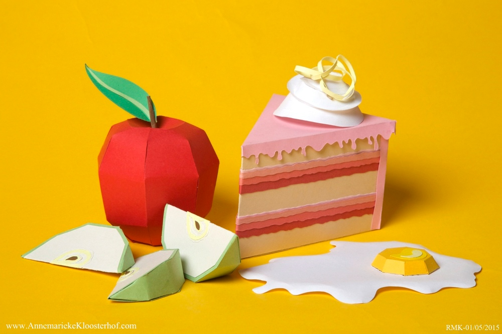 Edible Idioms Paper Craft On Behance