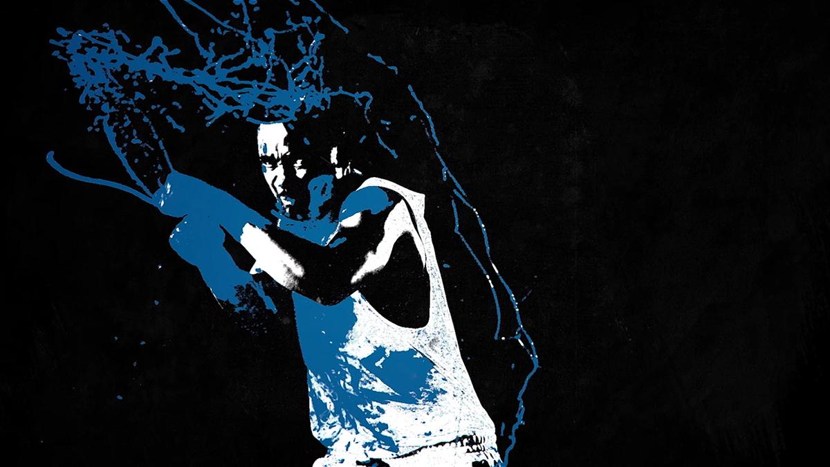 teaser promo Big Brother DStv jango birthmark blue red White angola gritty paint