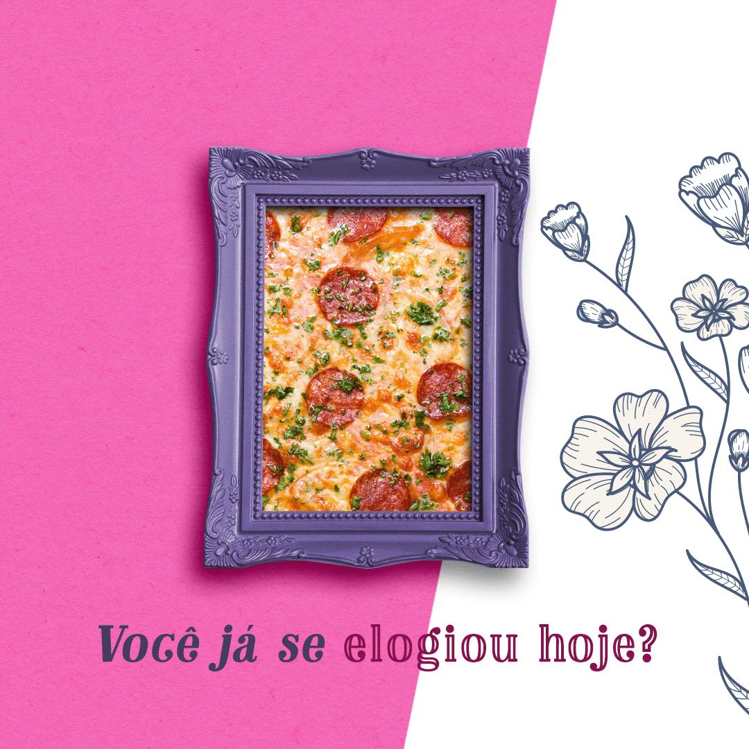 CAMPANHA DIA DA MULHER Campanha Mulher dia da mulher mulher pizzaria Dia Internacional Mulher
