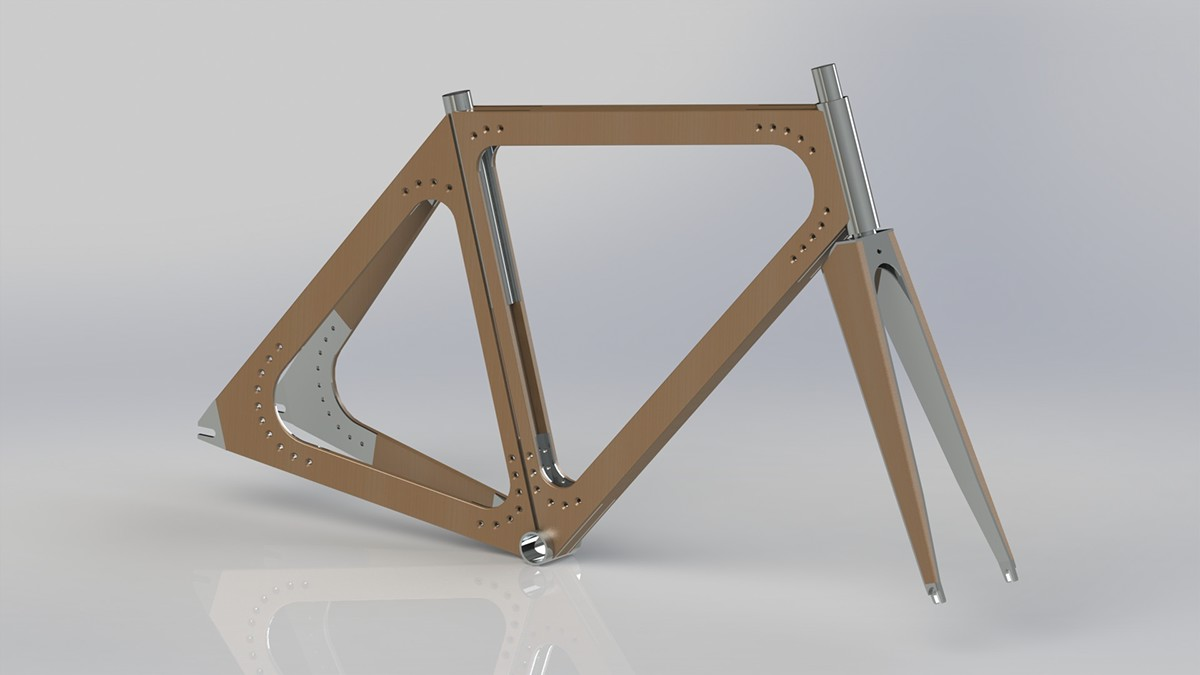 wood wooden Bike Bicycle sustin sustain Sustainable Ply plywood tubing Transport eco friendly environmental environmentally Cheap mass manufacturing viable