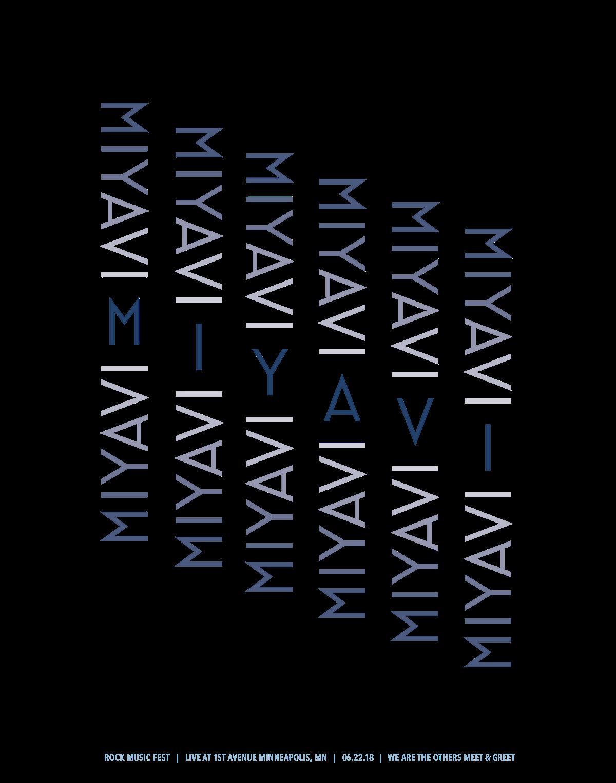 Miyavi Gig Poster On Behance