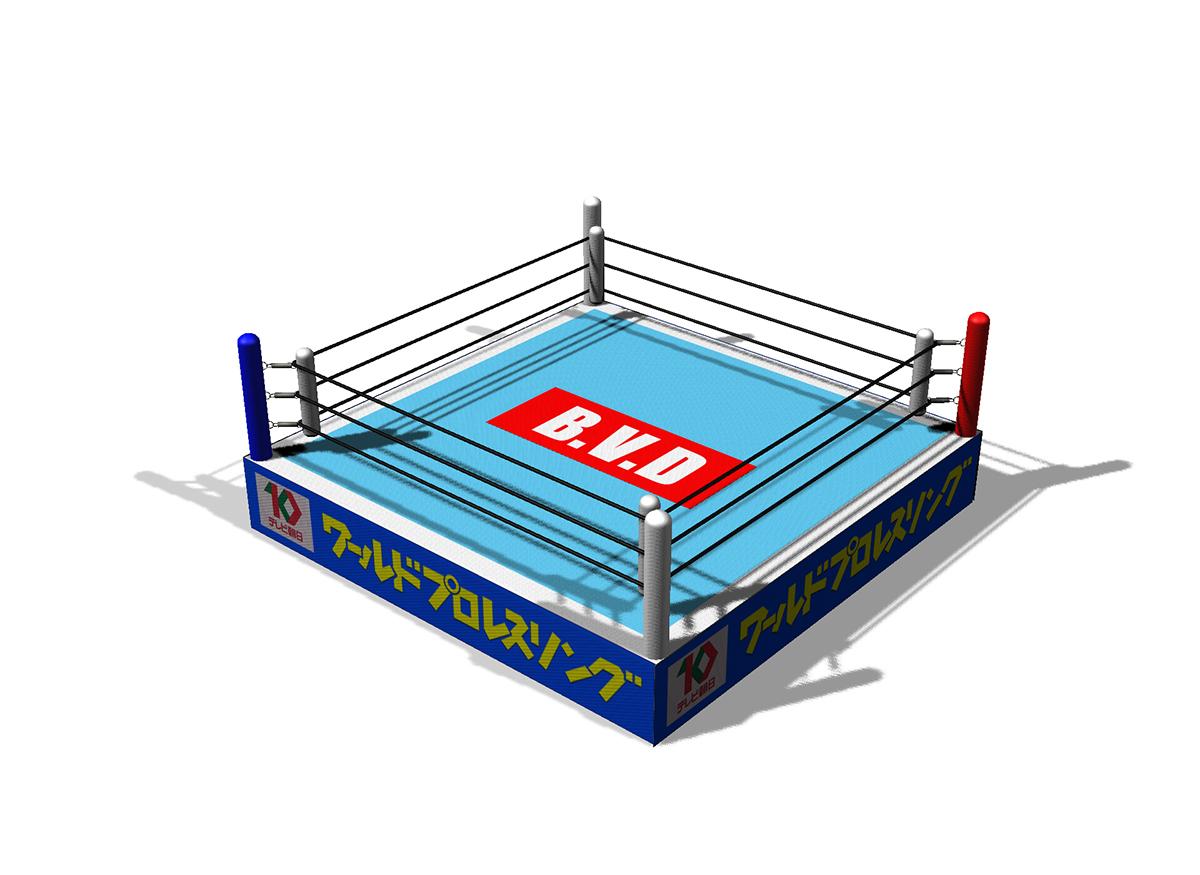 Photoshop 3D Works Vol 6 The legendary NJPW 1997 on Pantone