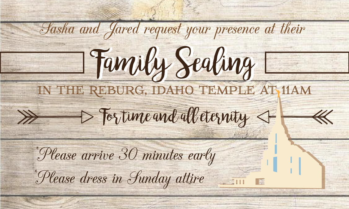 Brague Family Sealing Invitation On Behance