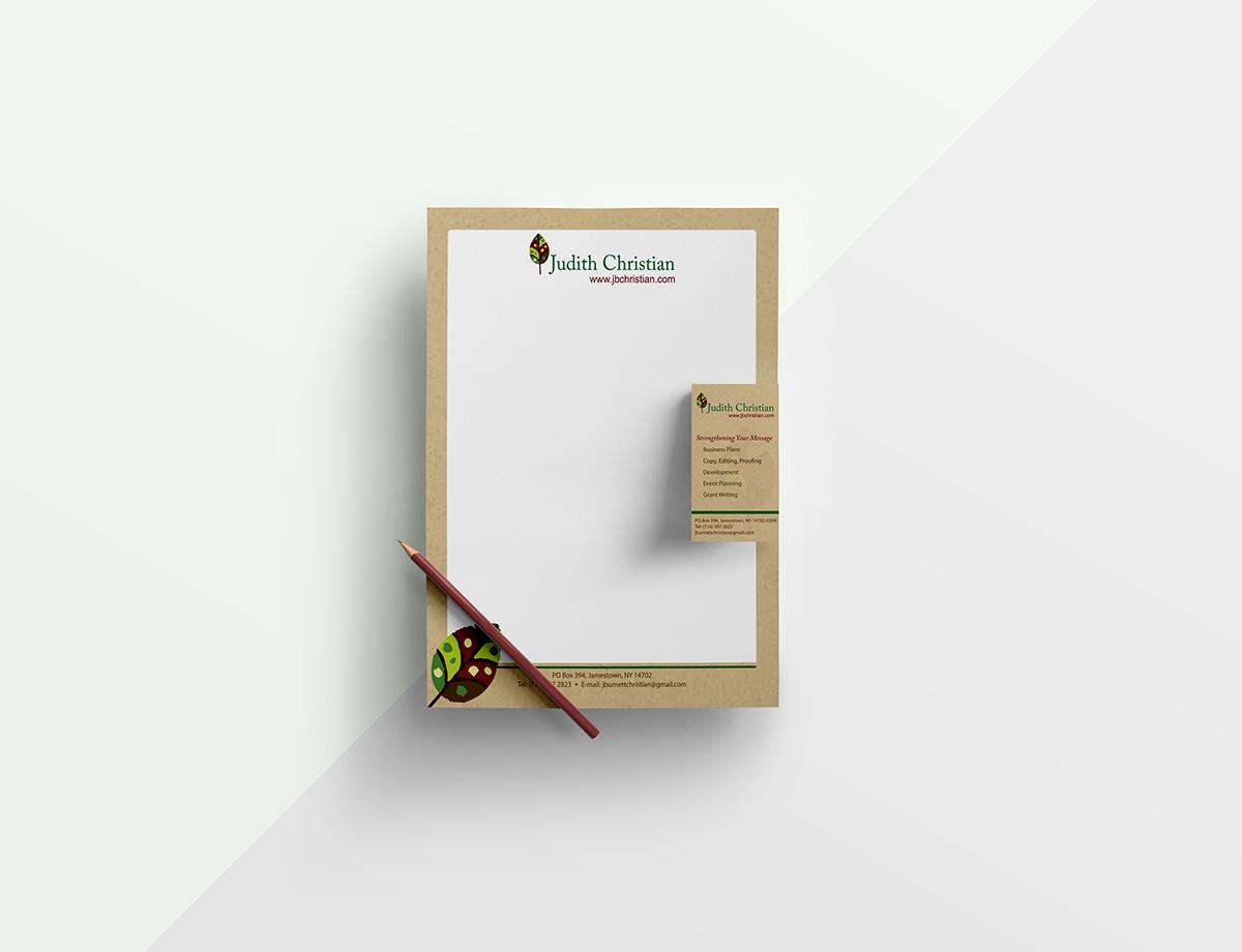 Letterhead for Writer