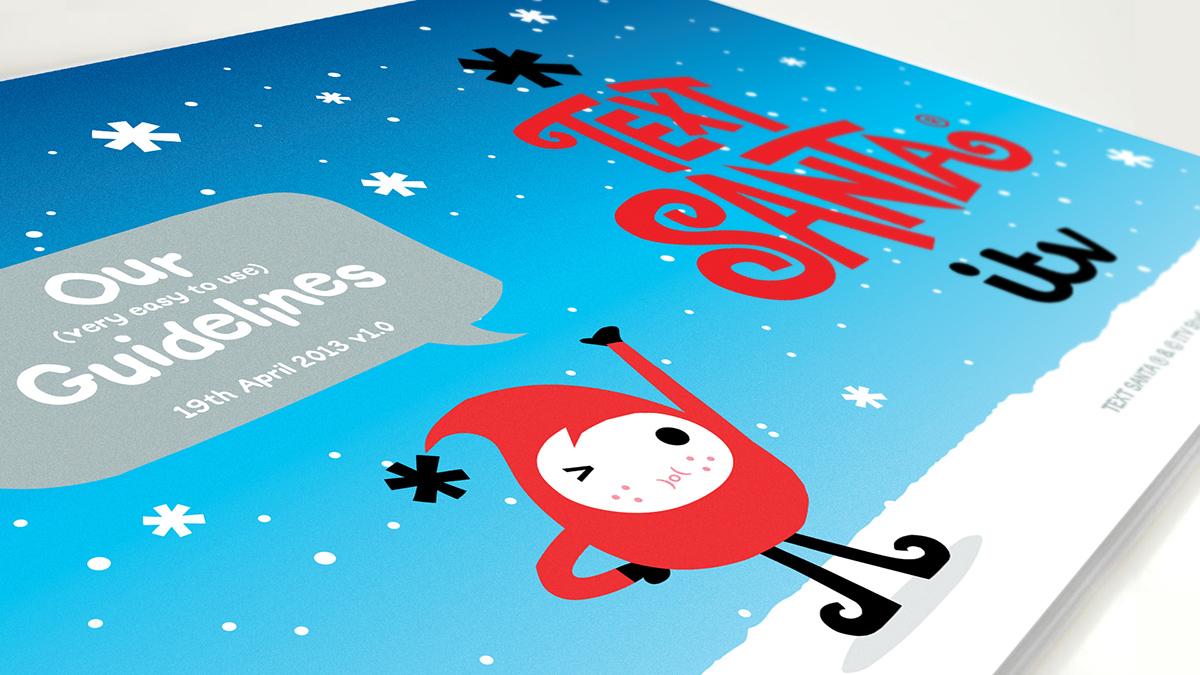 """ITV /""""Text Santa/"""" Charity Enamel Pin Badges New 2013 Christmas character."""