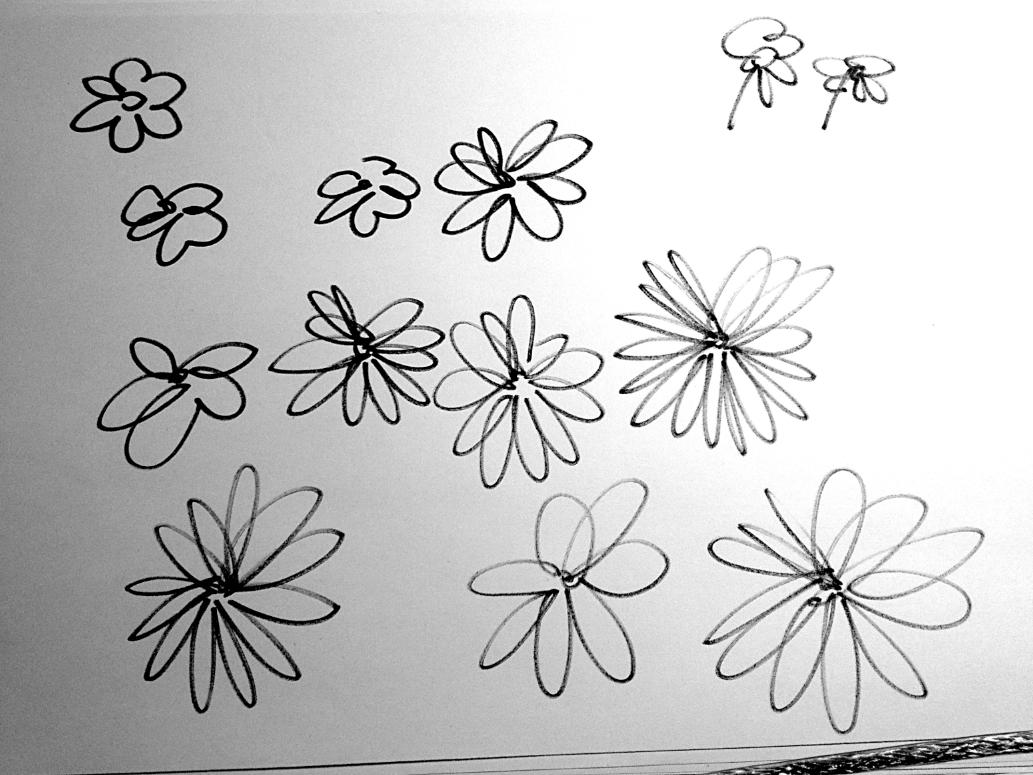 lettering,typography  ,daisies,Betterpres Lab,Francesco Mazzenga,margherite