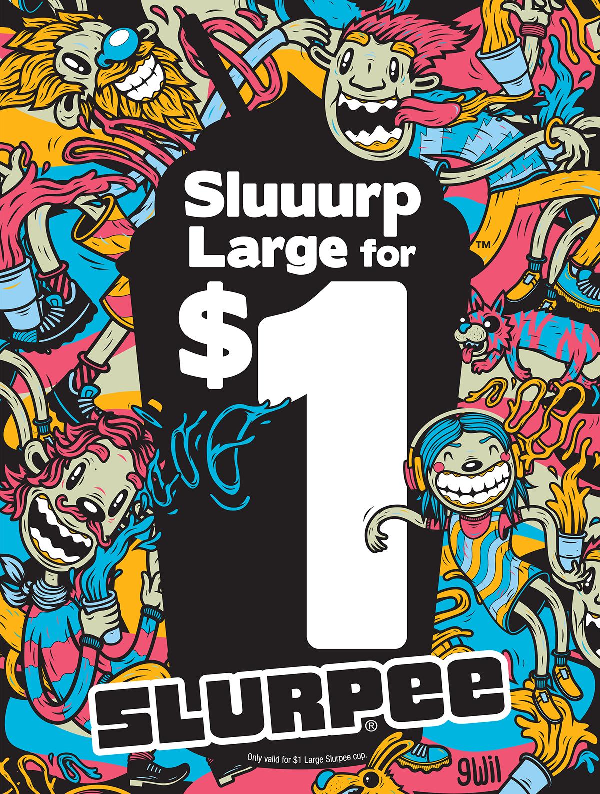 gwil   SLURPEE 7-Eleven cup