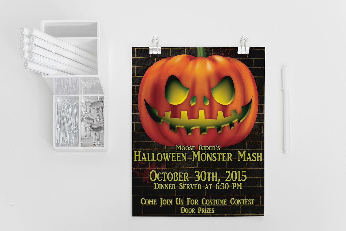 moose lodge halloween monster mash on behance