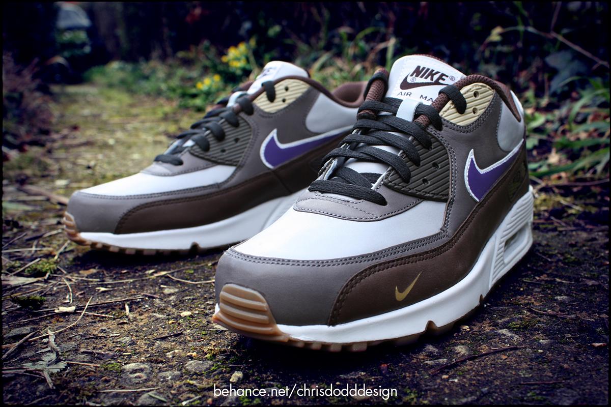 promo code 587bf 49745 Atmos x Nike Air Max 90 Viotech Custom on Behance