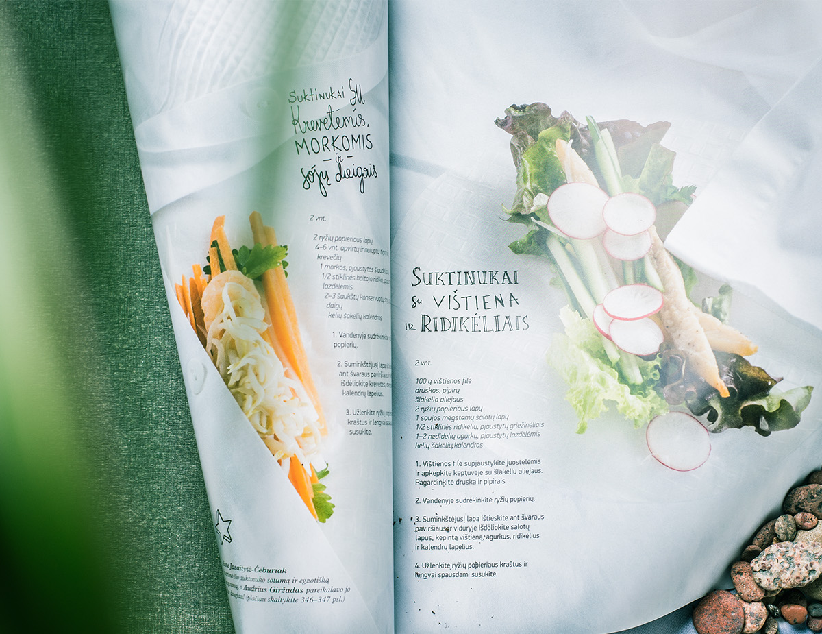 Adobe Portfolio Culinary magazine editorial jungle of taste Food  Travel cuisine
