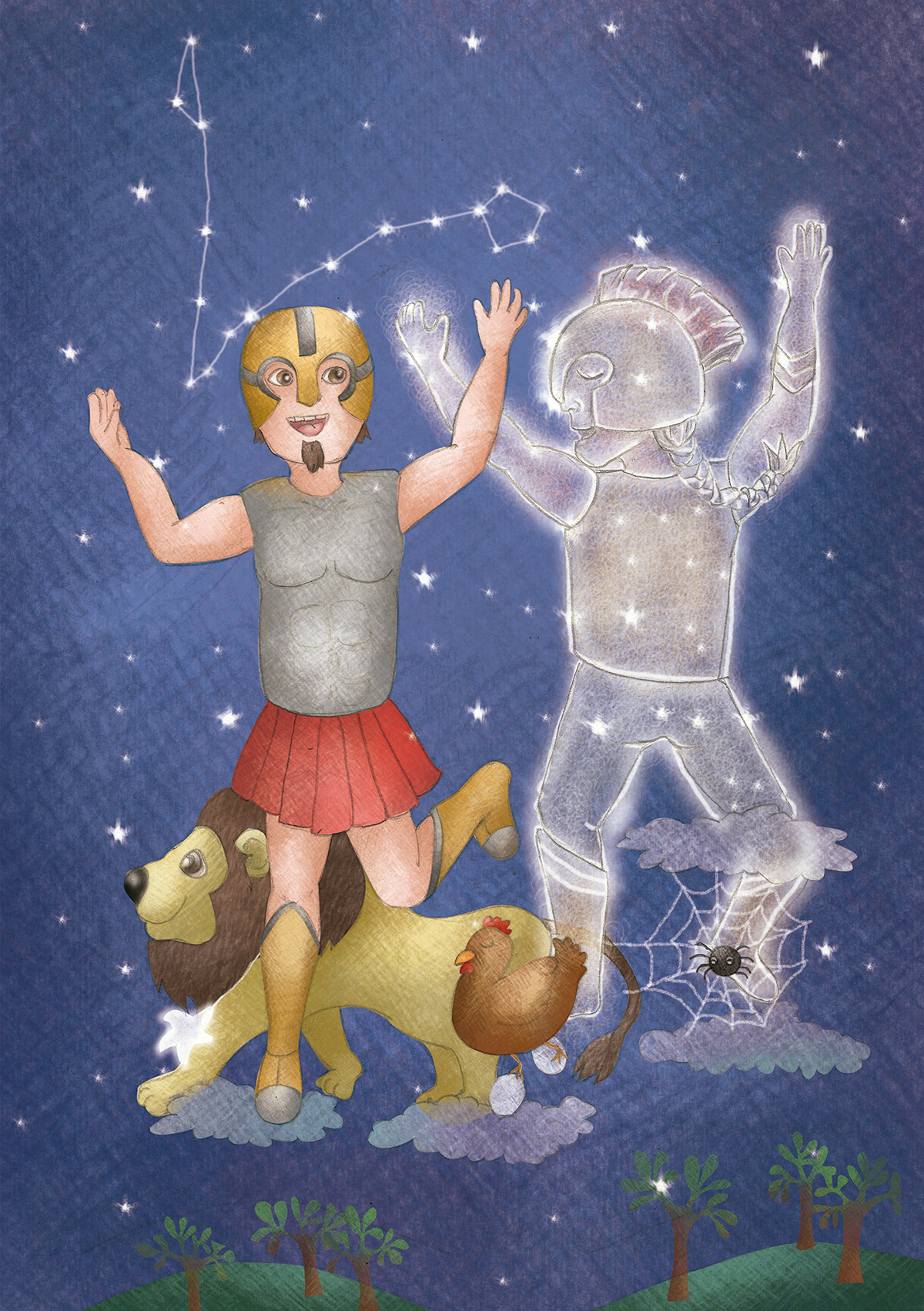 libro ilustrado ilustración infantil