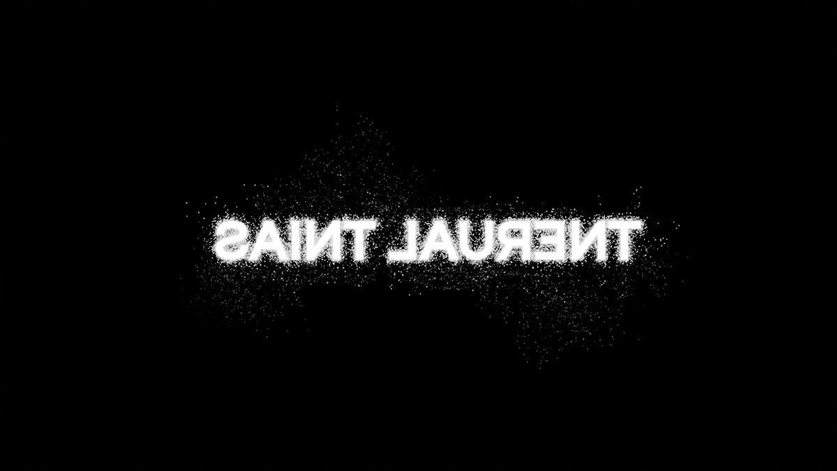 +my personal variation of how will possibly llook logoof Saint Laurent in next rebranding ;)