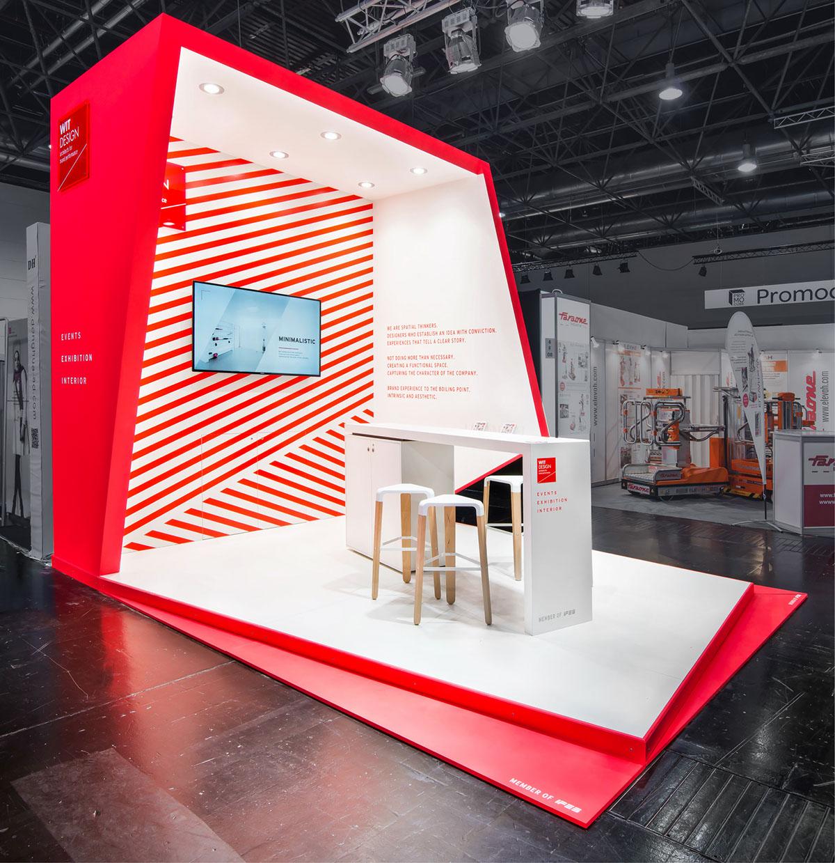 Exhibition Stand Design Trends 2017 : Wit design euroshop on behance