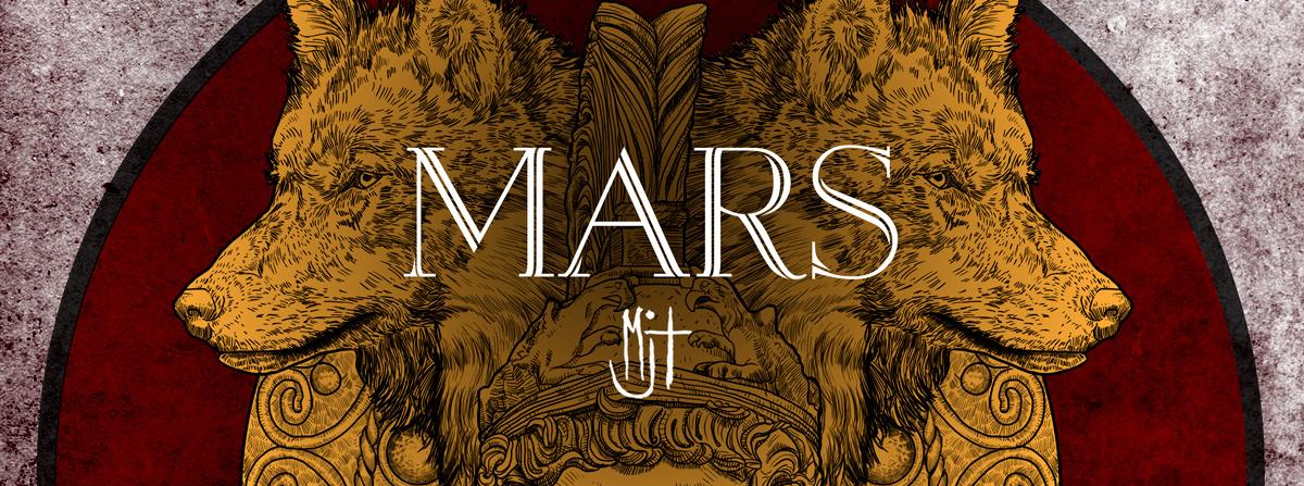 Adobe Portfolio mars ares god of war War spear mars planet mars god ares god greek roman shield wolves wolf mythology