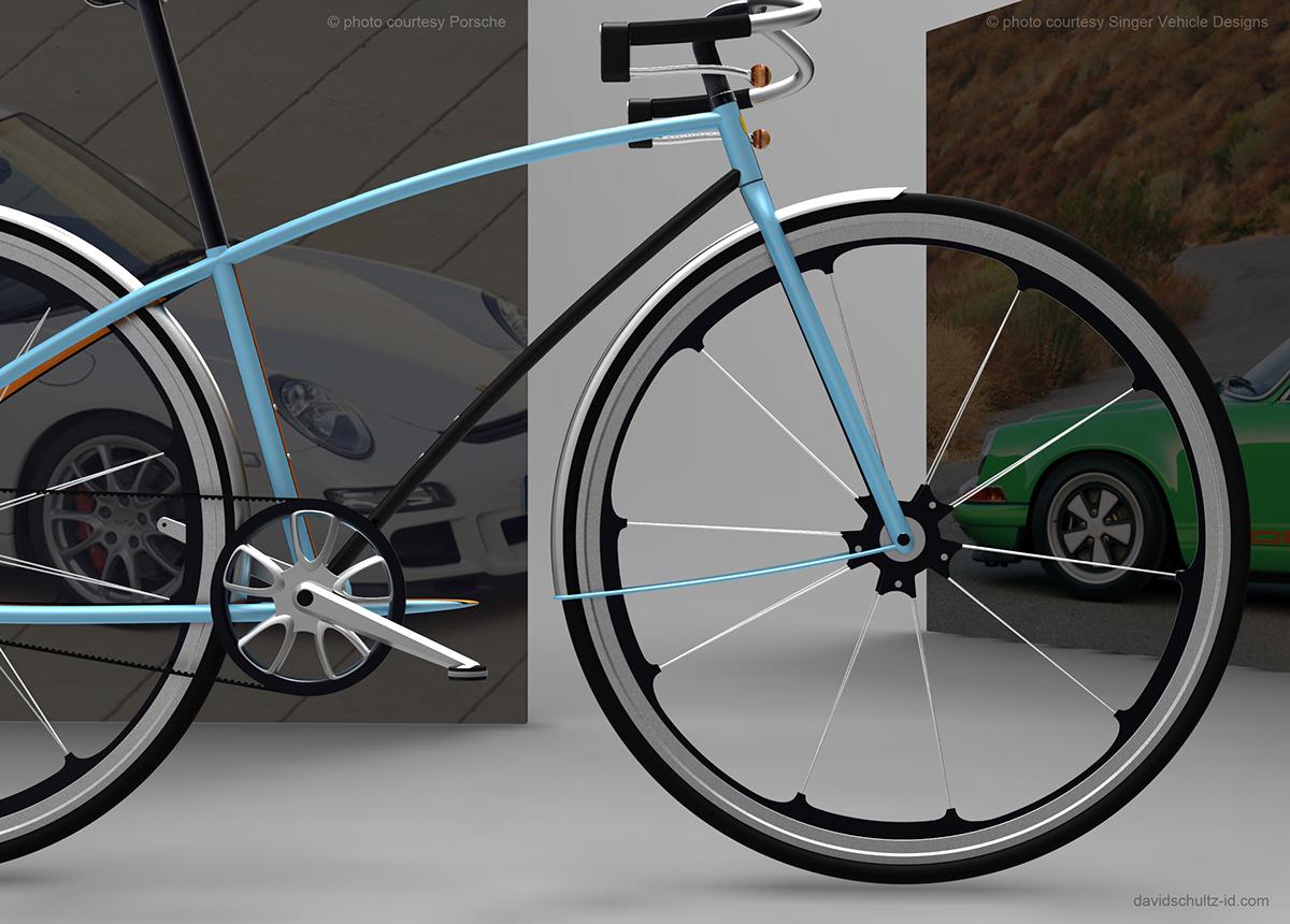 porsche bike on behance. Black Bedroom Furniture Sets. Home Design Ideas