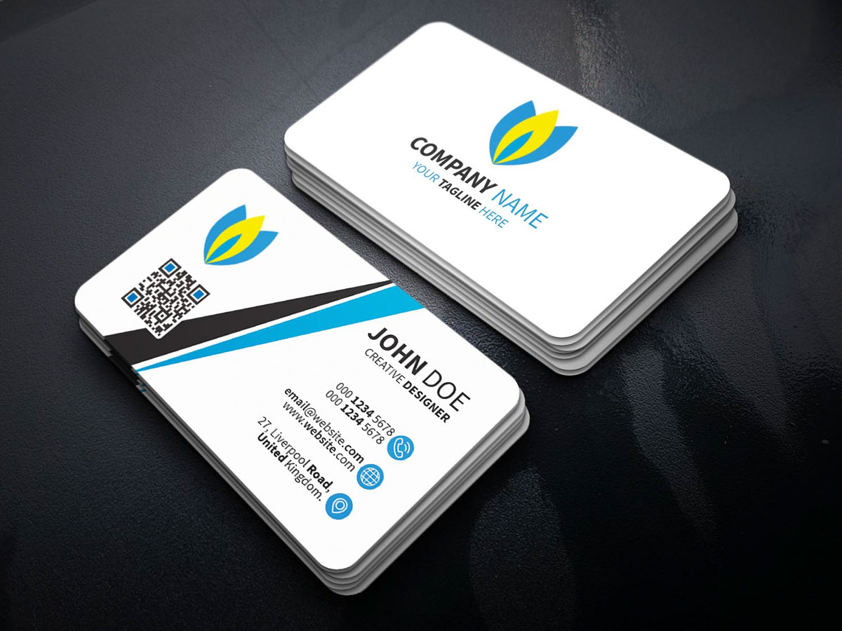 Simple business card freebie on student show download link here reheart Image collections