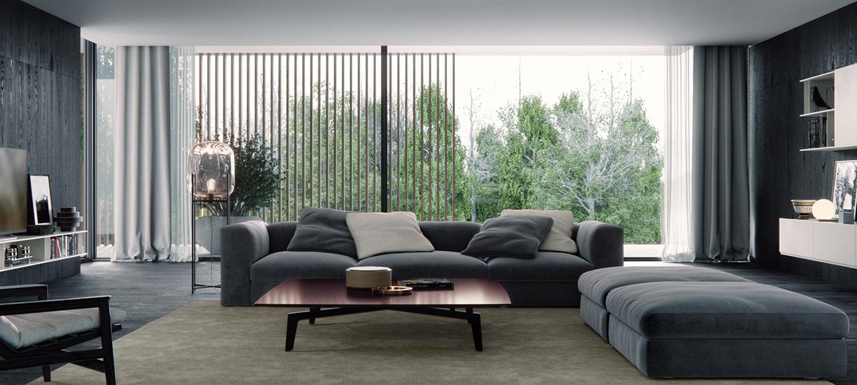 Poliform Living Room On Behance