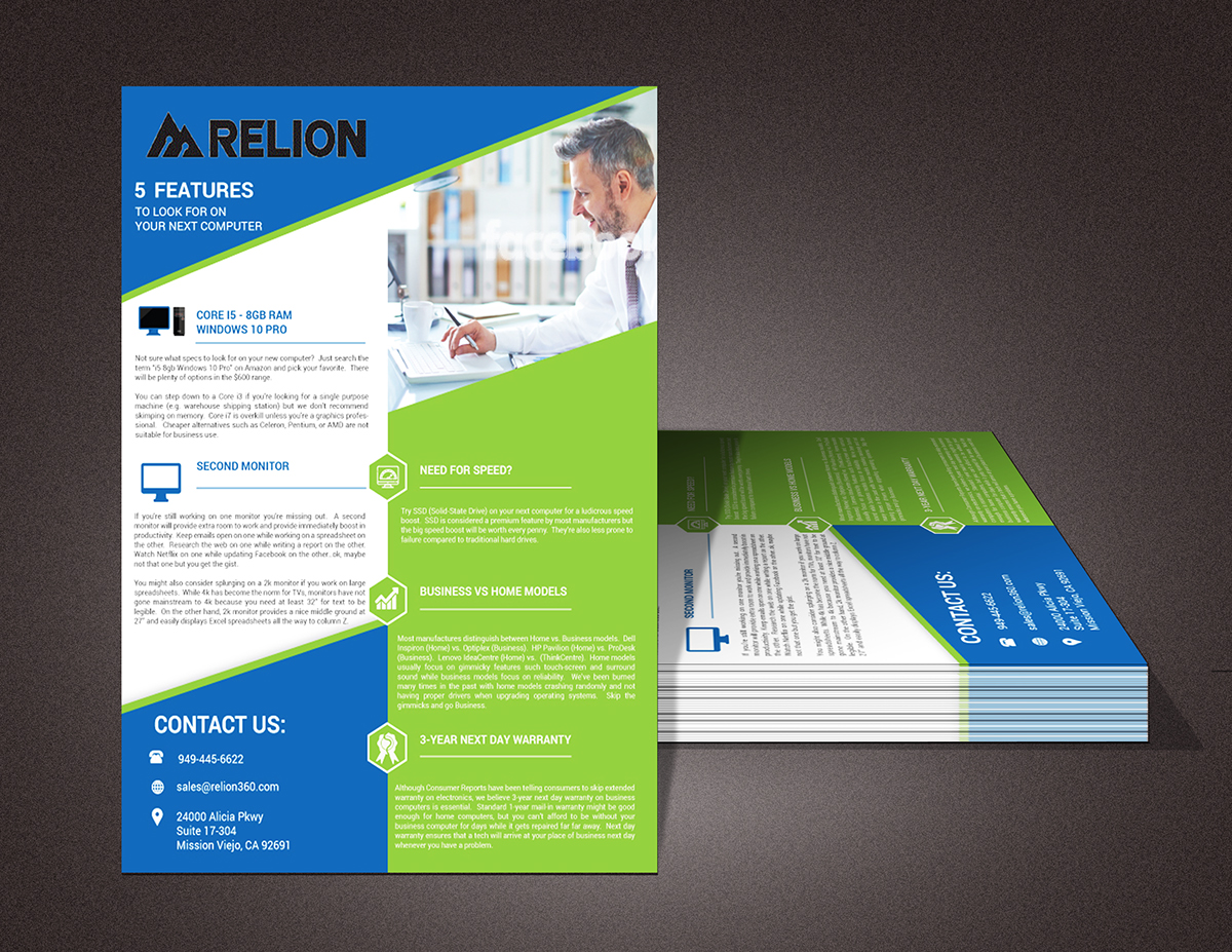 corporate flyer design on pantone canvas gallery