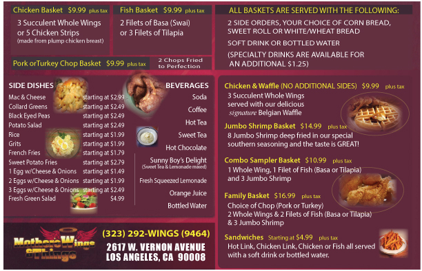 menu flyers design printing available mavc graphics on behance