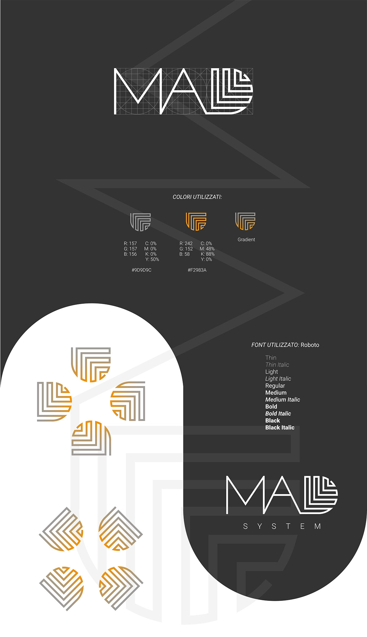 brand identity logo Stationery immagine cordinata