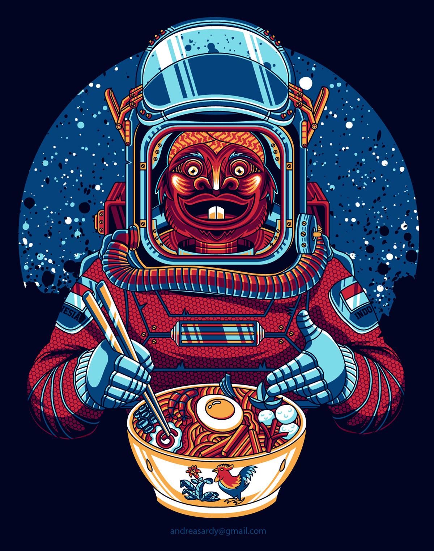 retro astronaut posters - 805×987