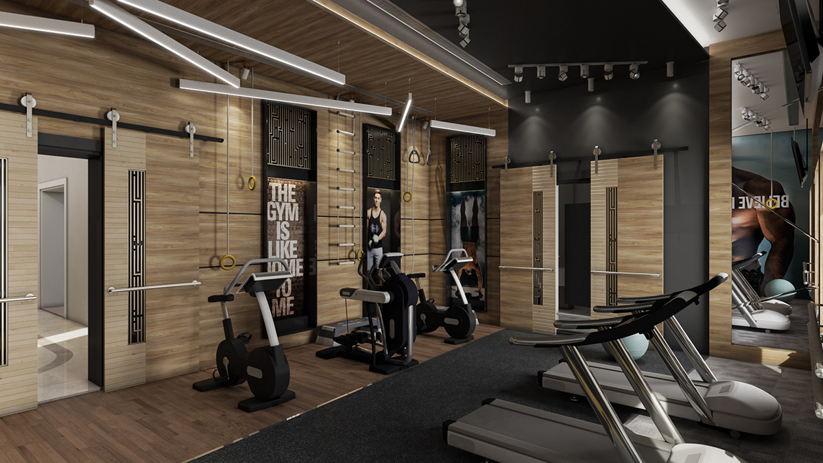 The iron den gym