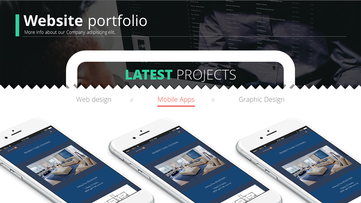 web design development powerpoint presentation on behance