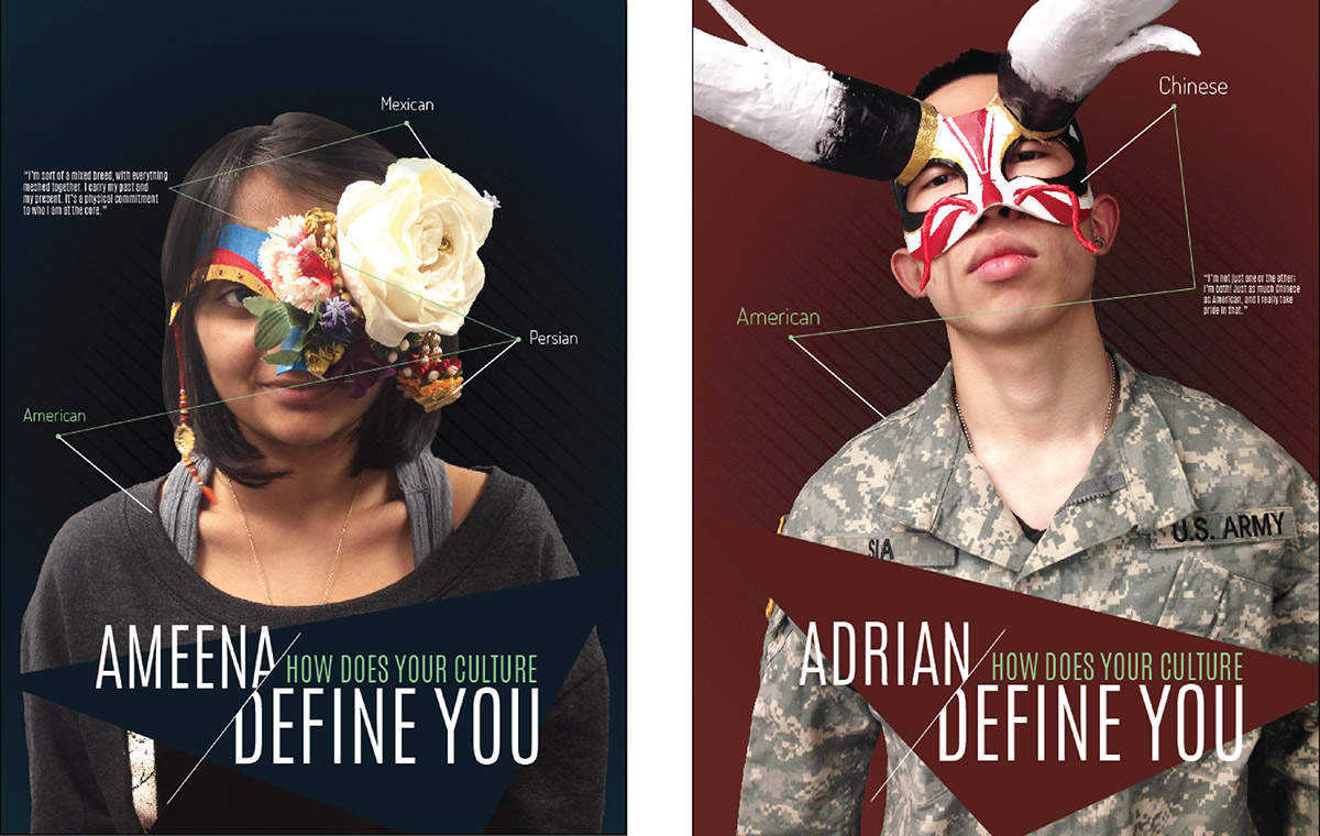 masks culture identity american new yorker define idian crafting campaign First Generation college campus self define you