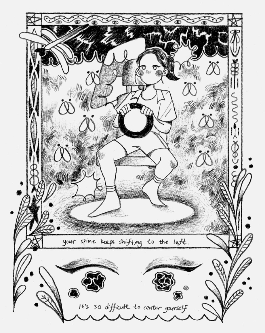 Image may contain: sketch, cartoon and drawing
