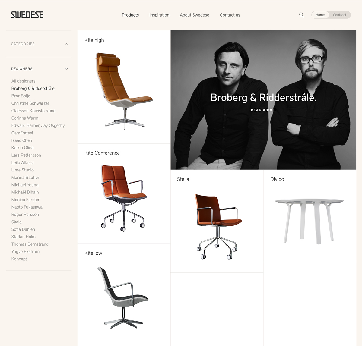 swedese furniture