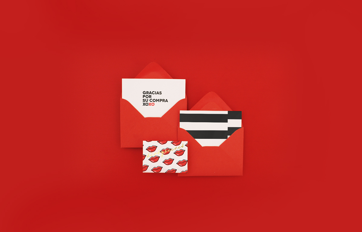 brad mark savage miguelbasurto Love logo logofolio stationary mexico Mexican red accessories Freelance elegant gold