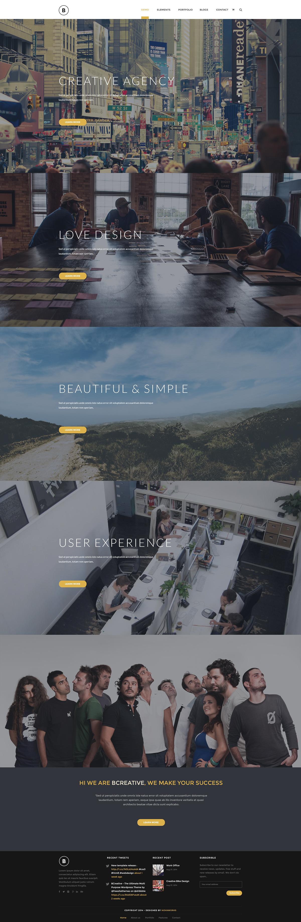 creative corporate Multipurpose Web Desig UI/UX Design