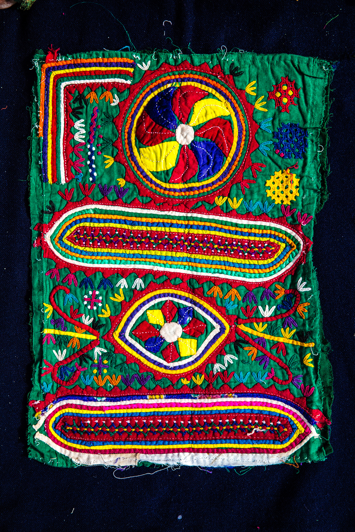Hand Embroidery Of Kutch On Behance